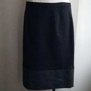 SIMPLY VERA color block skirt